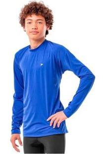 Camisa Fator De Proteção Comfort Infantil Uv 50+ Poliamida - Masculino