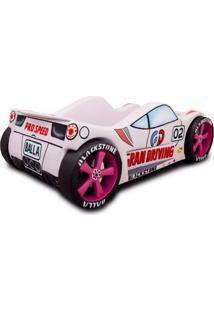 Mini Cama Carro Balla Girls Rosa