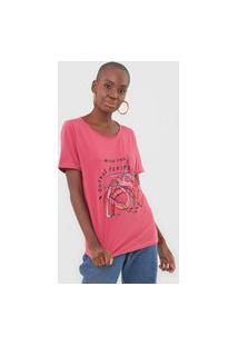 Camiseta Cantão Perspectivas Rosa