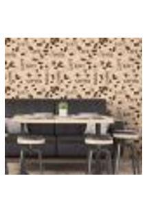 Papel De Parede Autocolante Rolo 0,58 X 3M - Café Cozinha 262930105