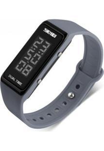 Relógio Skmei Digital - Unissex-Cinza