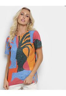 Camiseta Cantão Local Vasos Feminina - Feminino
