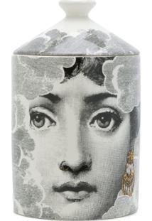 Fornasetti Face Print Candle - Preto
