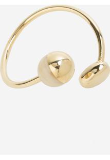 Bracelete Le Lis Blanc Bianca Dourado Feminino (Dourado, Un)