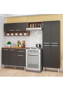 Cozinha Compacta Madri 9 Pt 1 Gv Teka E Grafite