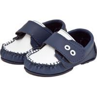 29f207d715 Dafiti. Mocassim Tricae Ilhoses Infantil Azul Branco