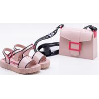a9bb93cb91ce1 Sandália Infantil Grendene Larissa Manoela Fashion Bag Feminina - Feminino- Rosa