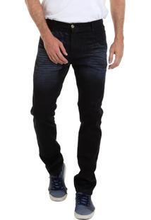 Calça Jeans Versatti Tradicional Preta Los Angeles 2