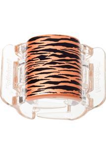 Prendedor De Cabelo Linziclip Tiger Pearlised Orange Peel