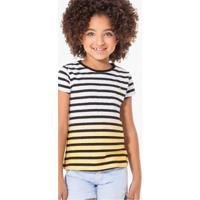 a64d0a55ea Camiseta Infantil Listras Imersao Reserva Mini Feminina - Feminino