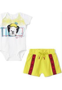 Conjunto Branco Bebê Menino