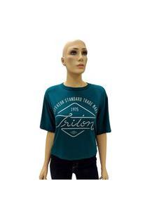 T-Shirt Triton Estampa 1975 Verde Tam. Pp