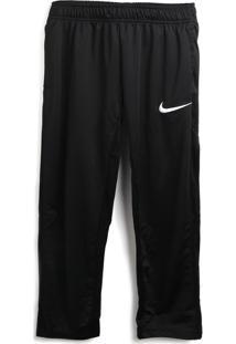 Calça Nike Menino Liso Preta