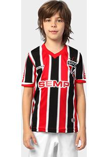 Camisa Penalty São Paulo Ii 2014 S/Nº Infantil - Masculino