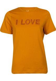 Camiseta Feminina I Love Khelf