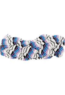 Missoni Mare Braided Headband - Azul