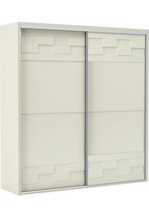 Guarda Roupa Tw302 2 Portas Off White