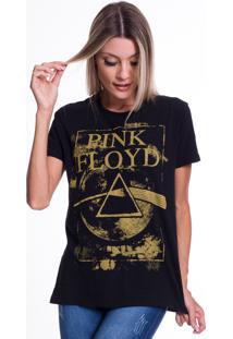 Camiseta Jazz Brasil Pink Floyd Preta