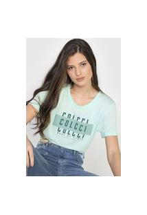 Camiseta Colcci Made Of Stars Verde