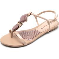 5dfbe2157 Rasteira Nude Ramarim feminina | Shoes4you