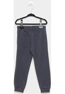 Calça Moletom Bebê Brandili Jogger Masculina - Masculino-Preto