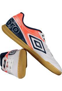 3bd74a6a8cc Fut Fanatics. Chuteira Umbro Attak Pro Futsal Branca