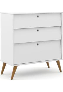 Gaveteiro Gold Branco Soft/Eco Wood Matic Móveis