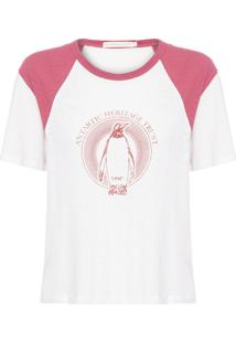 Camiseta Feminina Antartida - Off White