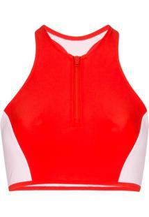 Y-3 Jaqueta Esportiva Com Estampa De Logo - Vermelho