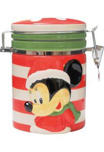 Disney Bomboniere Minnie®- Vermelho & Branco- Ø10X17Cromus