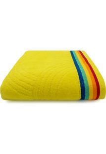 Toalha De Praia Beach - Appel - Rainbow - Amarelo,