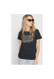 Camiseta Polo Wear Living The Dream Preta
