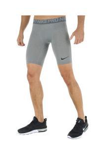 Bermuda Térmica Nike Pro - Masculina - Cinza Escuro