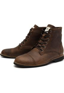 Bota London Fóssil Tabaco
