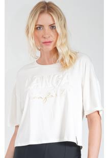 Camiseta Lança Perfume Cropped Branco