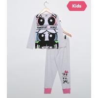 Pijama Para Menina Capri infantil  8b4c394a446