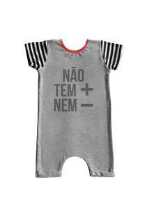 Pijama Curto Comfy Náo Tem + Nem -