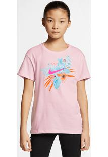 Camiseta Nike Sportswear Futura Infantil