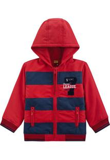 Jaqueta Masculina Vermelho