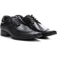 6450e6400c Sapato Social Couro Rafarillo Texturizado Las Vegas Masculino - Masculino- Preto