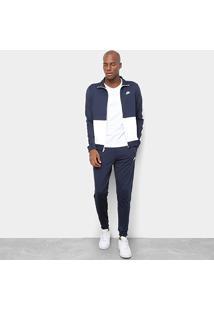 Agasalho Nike Sportswear Masculino - Masculino-Chumbo+Cinza