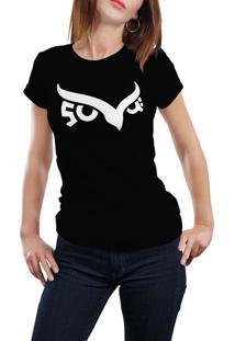 Camiseta Hunter Coruja Preta
