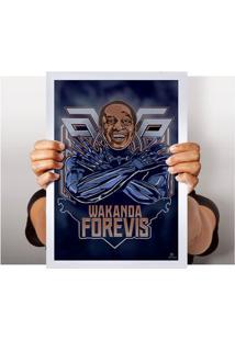 Poster Wakanda Forevis