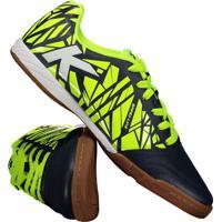 8bf615f548c Chuteira Kelme Futsal Subito Neon
