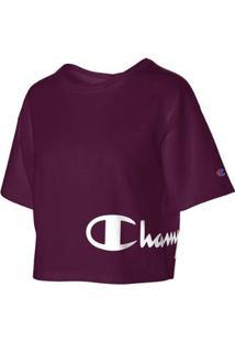 Camiseta Champion Cropped Feminina - Feminino