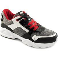 df6d26443 Tênis Sneaker Chunky Cravo E Canela Feminino - Feminino-Vermelho+Preto