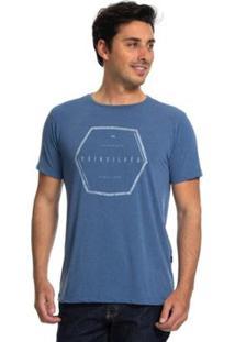 7309fe4a5252e Camiseta Quiksilver Nothern Nomad Masculina - Masculino-Azul ir para a loja