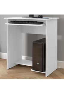 Mesa De Computador Prática Branco - Ej Móveis