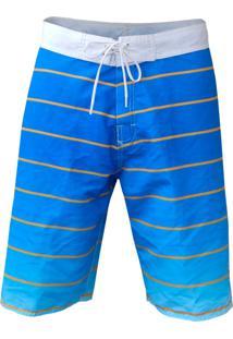 Bermuda Tecido Vinteseis Ocean Blue