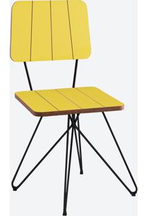 Cadeira Costela - Butterfly Amarelo